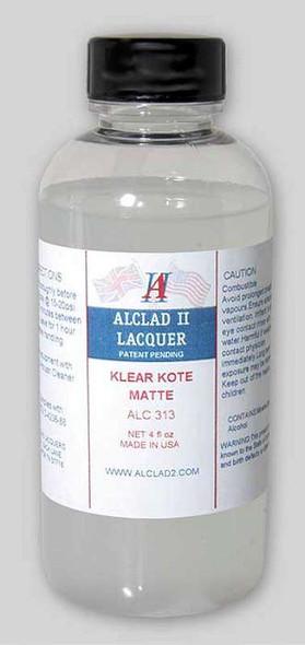 Alclad II Lacquers ALC313 Klear Kote Matte 4 oz