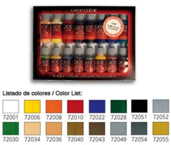 Vallejo Paint 72299 Game Color