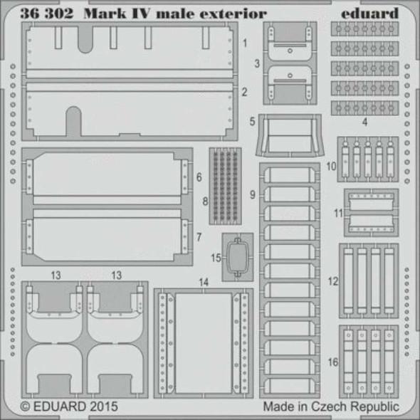 1/35 Armor- Mk IV Male Exterior for TAM