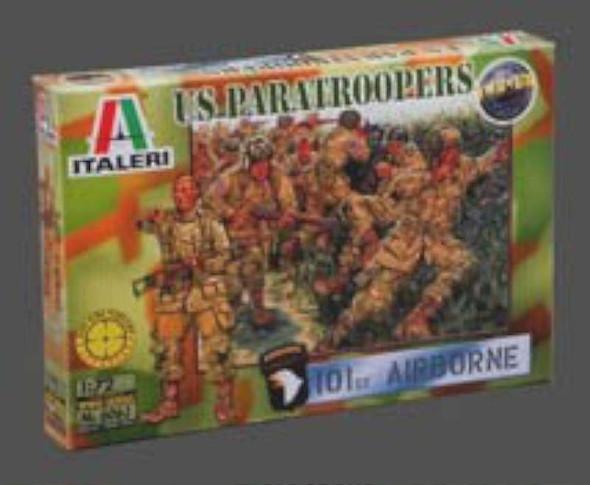 Italeri 6063 1:72 WWII US Paratroopers 101st Airborne Division (50)