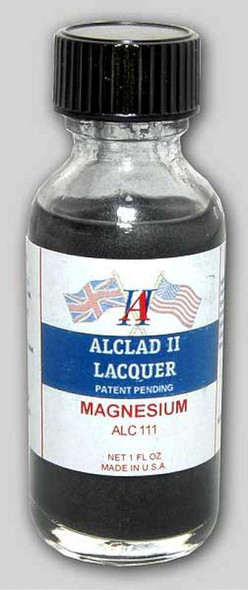 Alclad II Lacquers Magnesium 1oz
