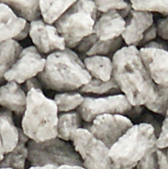 Woodland Scenics C1281 Extra Coarse Gray Talus - 25 Cubic Inches