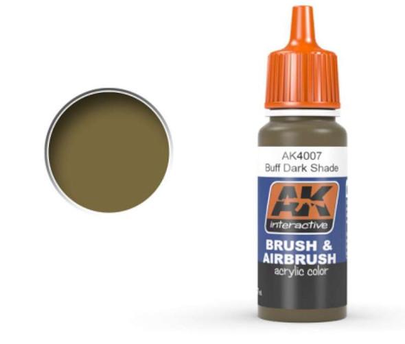 Buff Dark Shade Acrylic Paint 17ml Bottle