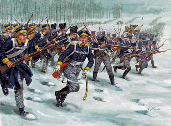 Italeri 1/72 Napoleonic Wars Prussian Infantry 6067S