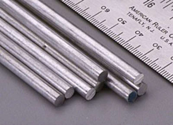 Value Brand 83044 Grainger Approved Aluminum Rods Rod stock,aluminum,3/16 in. Dia.