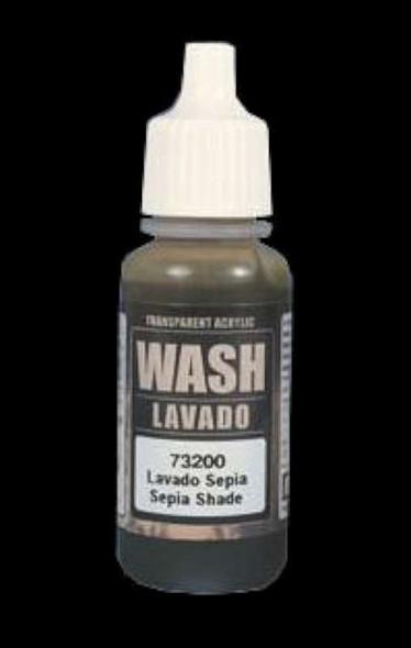 Vallejo Sepia Wash, 17ml VJP73200