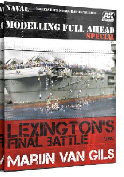 AK Interactive Lexington's Final Battle Modeling Full Ahead Special
