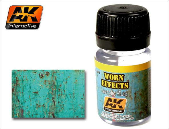 AK Interactive Worn Effects Fluid #088