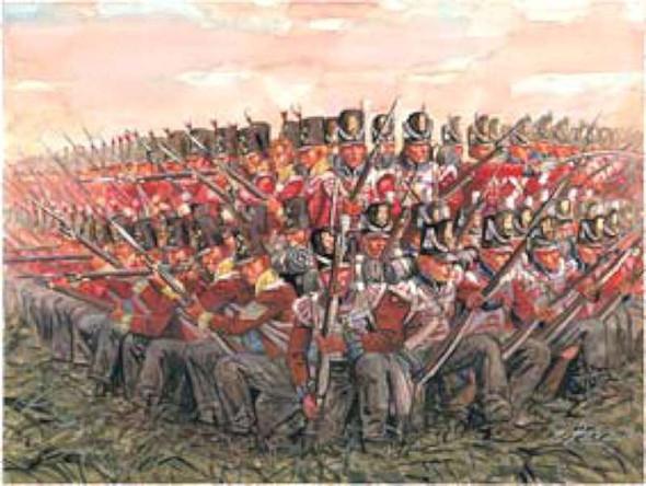 Italeri 1/72 British Infantry 1815 6095S