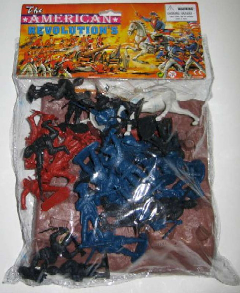 54mm Revolutionary War Embankment Amp Figure Playset Bagged by Ame