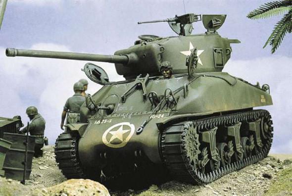 M4A1 Sherman, 1/35 by Italeri, Model Vehicle