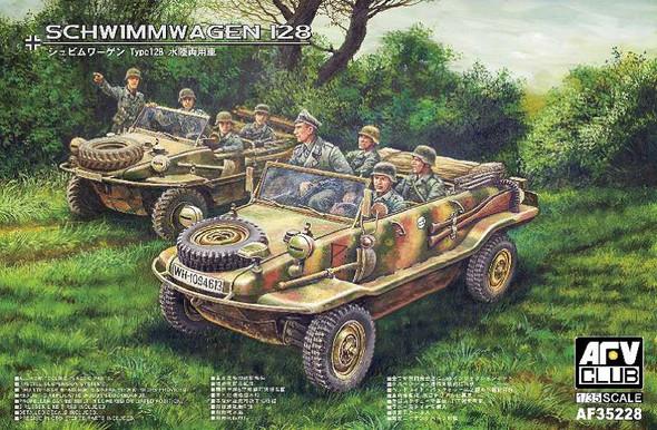 Military Model Kit - VW Schwimmwagen Type 128- 1:35 -AFV Club