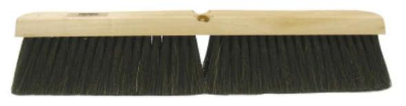 Weiler® Horsehair/Polystyrene/Polypropylene Medium Sweep Brushes