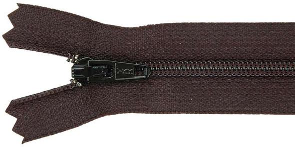 """Ziplon Coil Zipper 16"""" Black"""