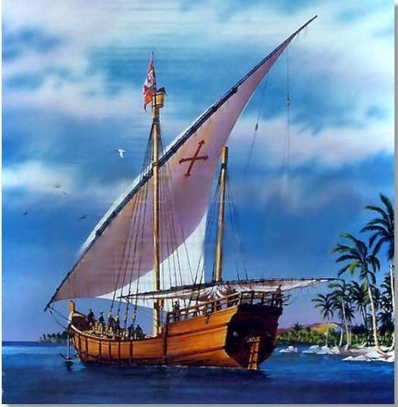 Heller Christopher Columbus' Nina Boat Model Building Kit
