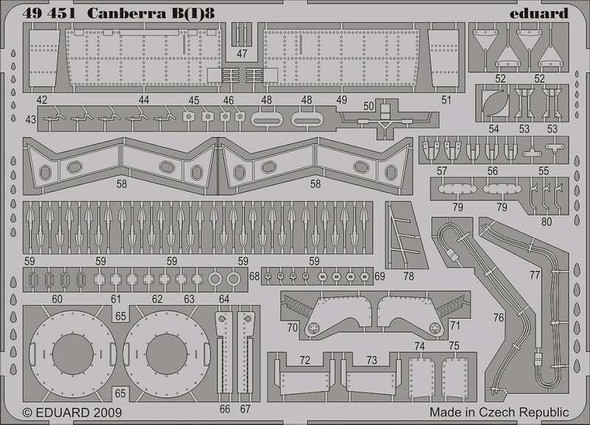 1/48 Aircraft- Canberra B(I)8 for ARX (Painted Self Adhesive)