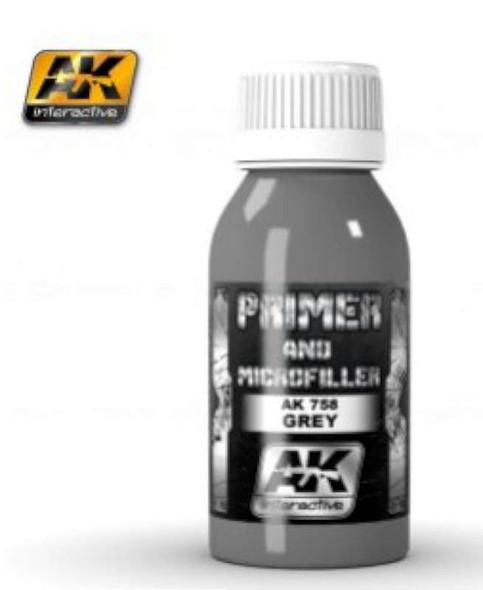 Grey Primer & Microfiller 100ml Bottle