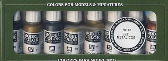 Model Color Set: Metallic Colors (8)