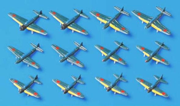 Japanese Naval Planes (Late), 1/700 by Tamiya, Model Airplane