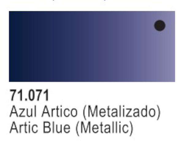 Metallic Artic Blue, 17ml by Vallejo, Model Paint