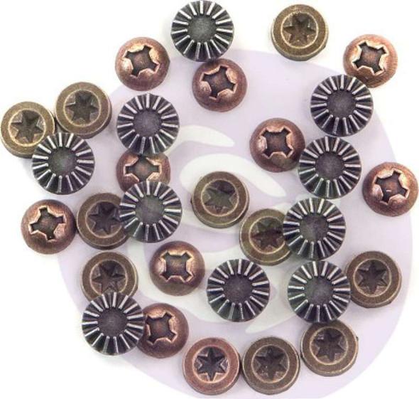 Finnabair Mechanicals Metal Embellishments Hardware Accents