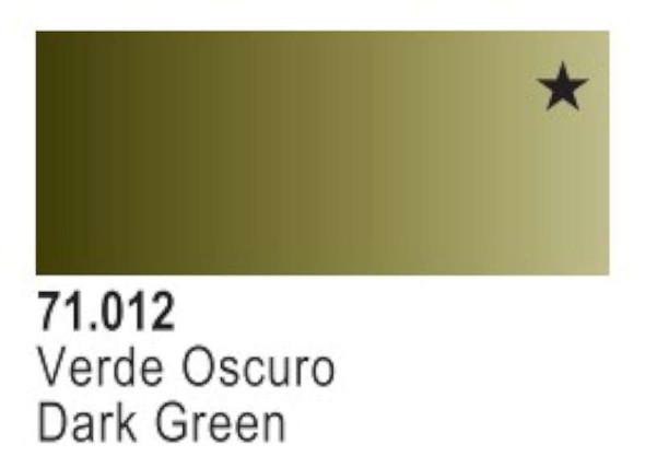 Dark Green-Vallejo--Acrylic Model Paint