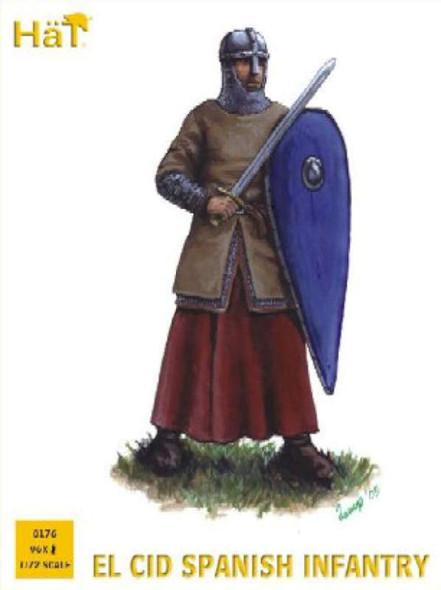 Model Figures - El CID Spanish Infantry- 1:72 -HAT Industrie