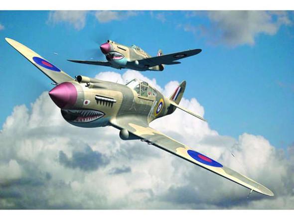 Curtiss P-40B Warhawk, 1/48 by Trumpeter, Model Airplane