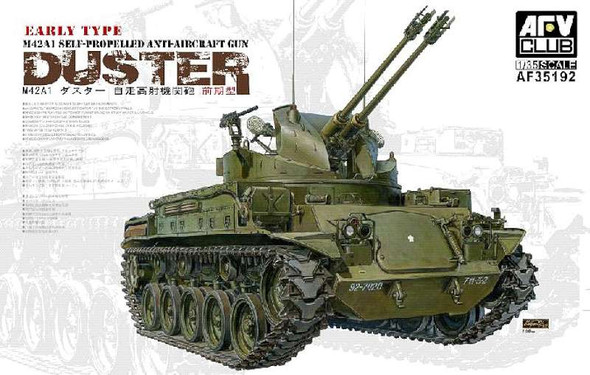 AFV Club FV35192 AFV - M42A1 Duster Self-Propelled Anti-Aircraft Cannon Early Type (Plastic model)