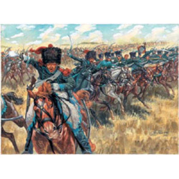 Italeri 1/72 Napoleonic Wars French Light Cavalry 6080S