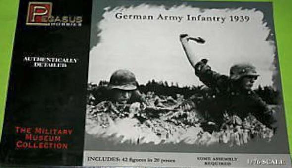 Pegasus Hobbies - 7499 1/72 German Army Infantry 1939 - Plastic Model