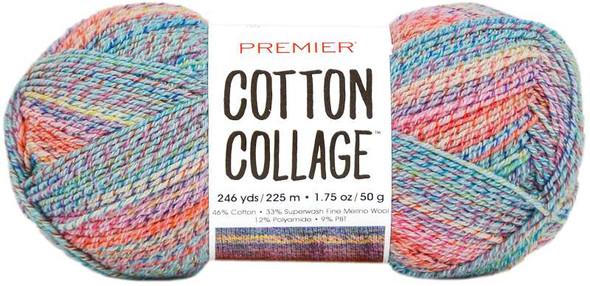 Premier Yarns Cotton Collage Yarn Party Multi