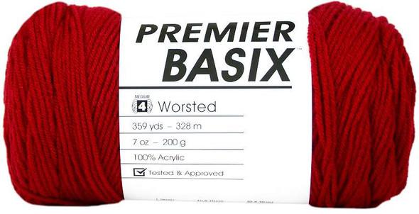 Premier Yarns Basix Yarn Red