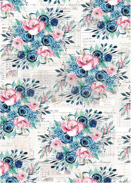 "Prima Marketing Re-Design Mulberry Tissue 19""x30"" Paulette"