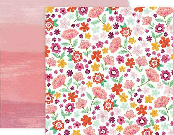 """Paige Evans Truly Grateful Double-Sided Cardstock 12""""X12"""" #15"""