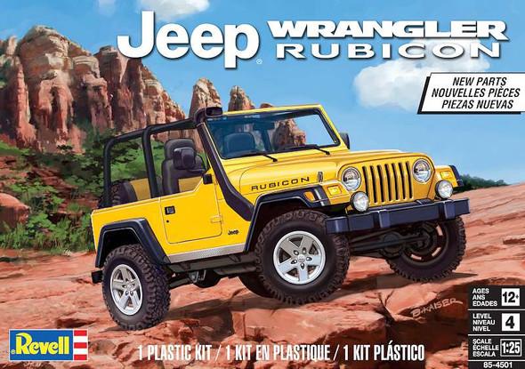 Plastic Model Kit Jeep Wrangler Rubicon