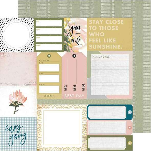 """Heidi Swapp Storyline Chapters Double-Sided Cardstock 12"""" Everyday"""