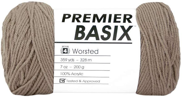Premier Yarns Basix Yarn Taupe