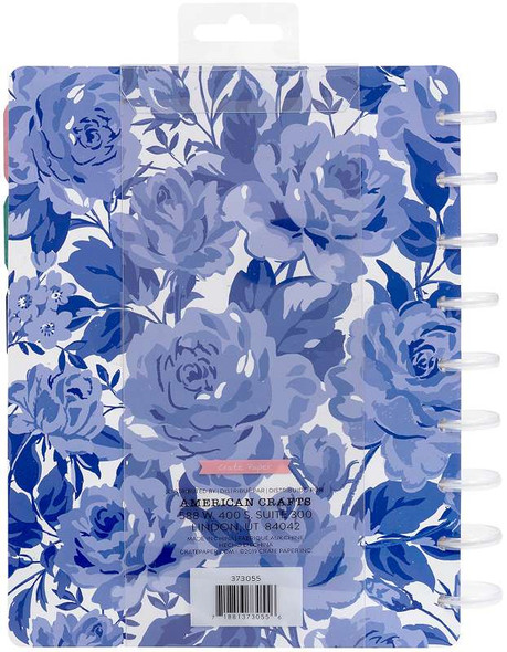 """Maggie Holmes Day-To-Day Undated 12 Month Planner 7.5""""X9.5"""" Sweet Rose"""
