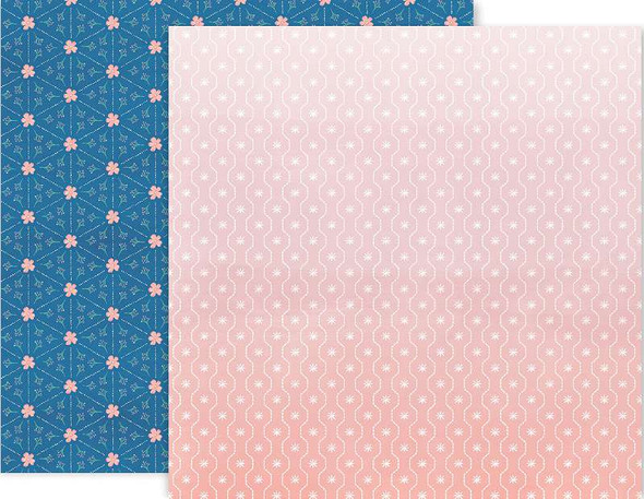 """Paige Evans Truly Grateful Double-Sided Cardstock 12""""X12"""" #18"""