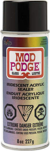 Mod Podge Iridescent Acrylic Sealer Spray 8oz Iridescent