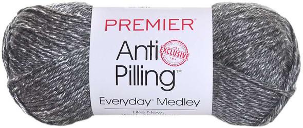 Premier Yarns Anti-Pilling Everyday Medley Yarn Ash