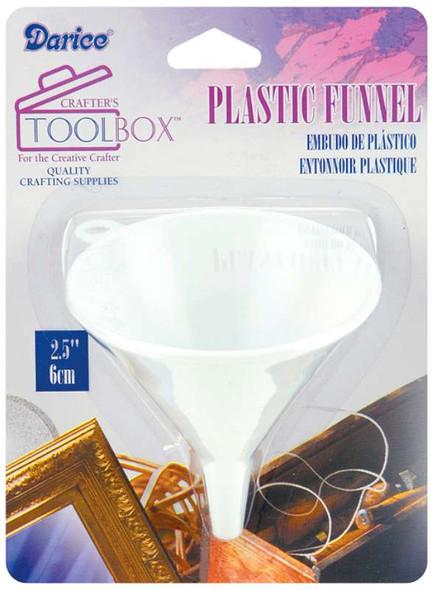 """Plastic Funnel 2.5"""""""