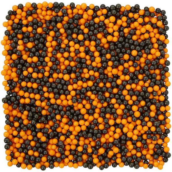 Nonpareils Sprinkles 4.65oz Orange And Black
