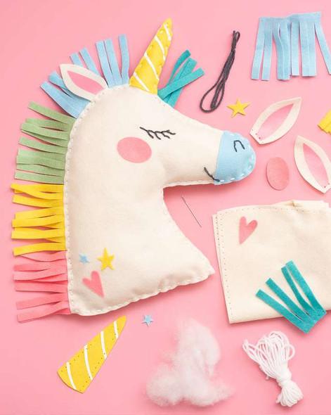 Sew Cute! Felt Pillow Kit Unicorn