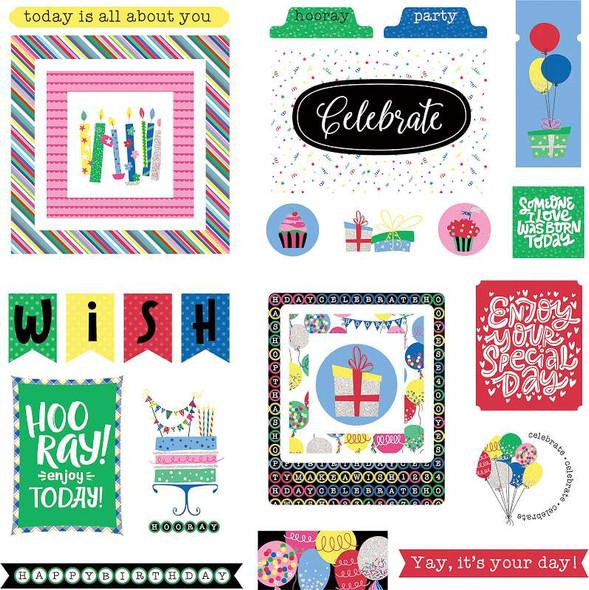 Confetti Ephemera Cardstock Die-Cuts