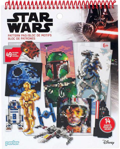 Perler Star Wars Fused Bead Pattern Pad Star Wars