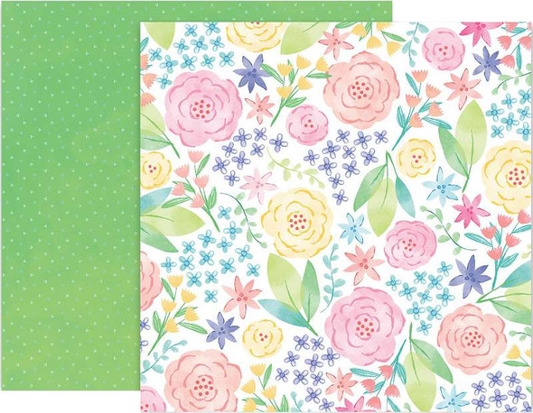"""Paige Evans Bloom Street Double-Sided Cardstock 12""""X12"""" #12"""