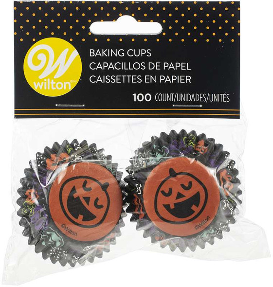 Mini Baking Cups Pumpkin 100/Pkg