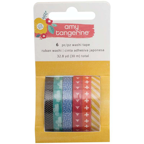 Amy Tan Oh Happy Life Erasers 6/Pkg